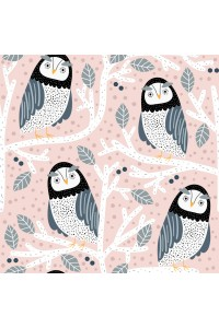 "PODUSZKA / PILLOW  ""S"" sweet owls"